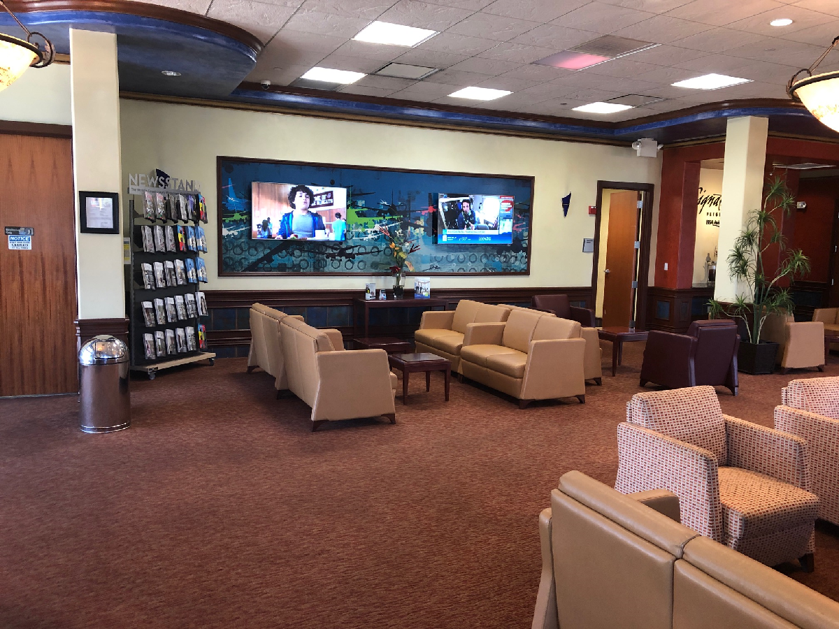 Lounge at Boca Raton FBO