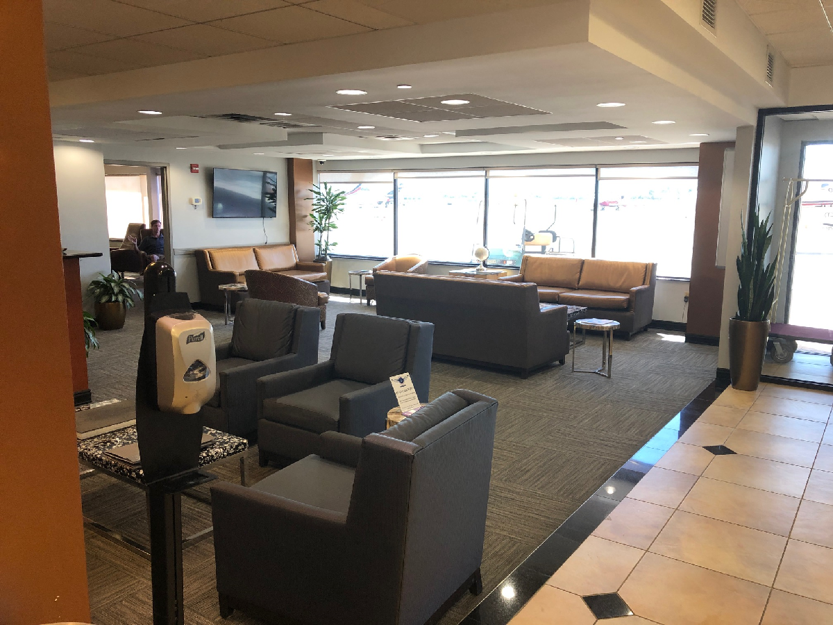 Passenger Lounge Atlantic Aviation Boca Raton BCT